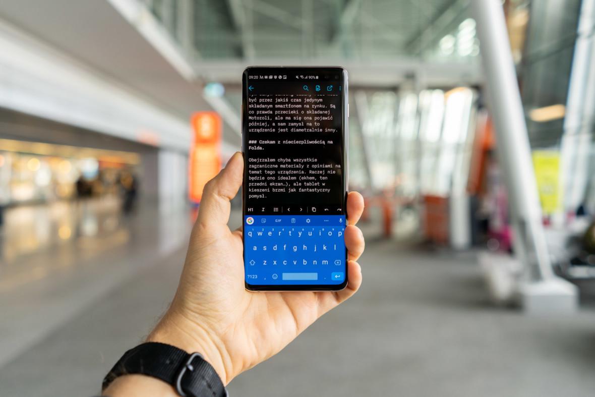 Samsung Galaxy S10+ w warunkach bojowych, czyli 1 TB w praktyce