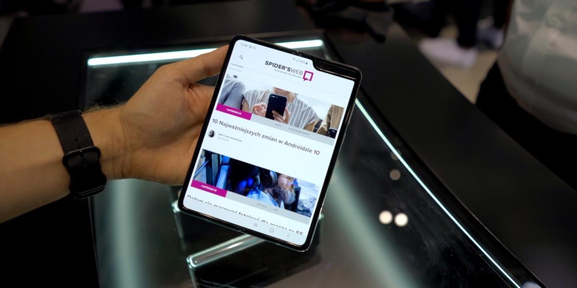 Samsung Galaxy Fold w naszych rękach. Jesteśmy po oficjalnej premierze