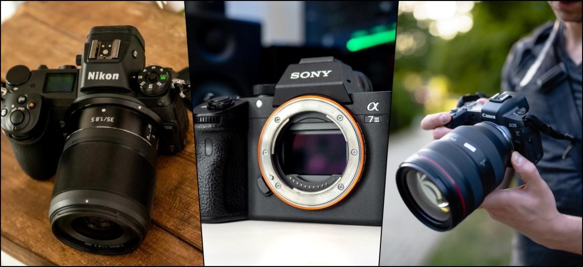 Sony A7III kontra Canon EOS R kontra Nikon Z6. Przetestowałem wszystkie i wybrałem mój nowy aparat
