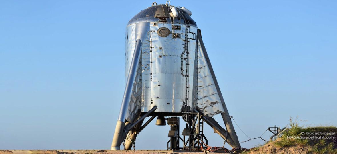 Tempo SpaceX jest imponujące. Pierwsze orbitalne testy Starhoppera wystartują w październiku