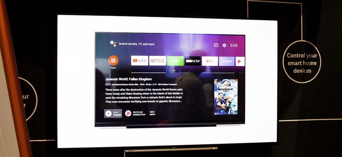Do telewizorów Toshiby trafia Android TV i Asystent Google