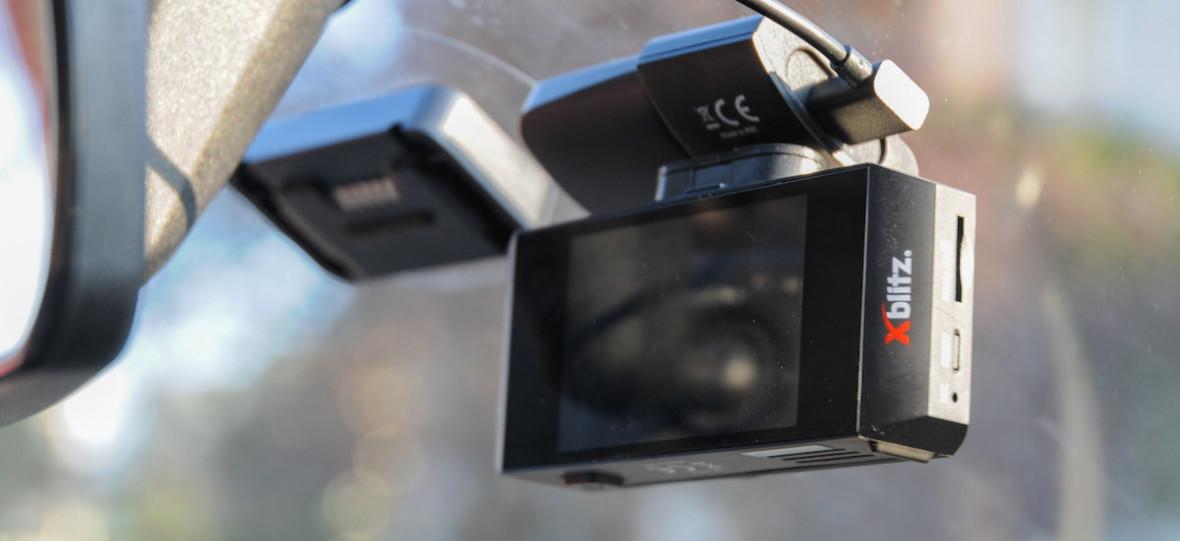 """Jeździłem z """"profesjonalnym wideorejestratorem"""". Xblitz V2 Professional – recenzja"""