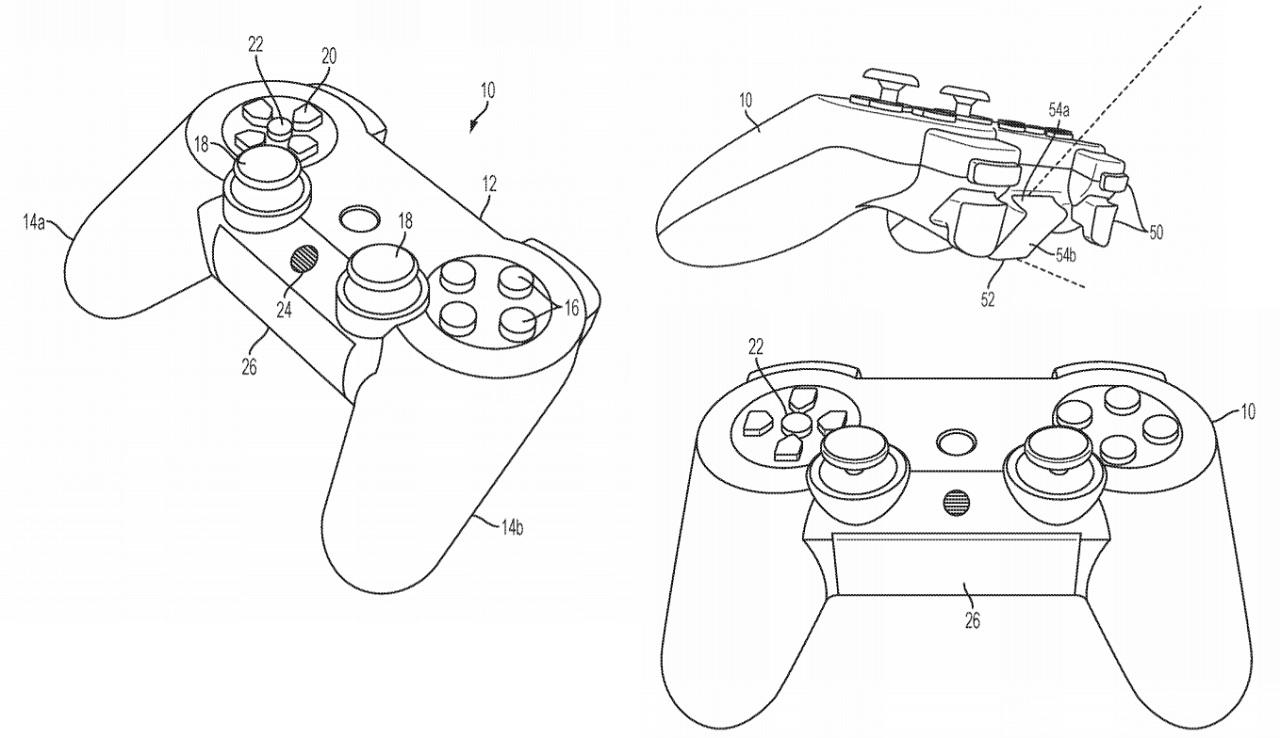 Patent DualShock 5
