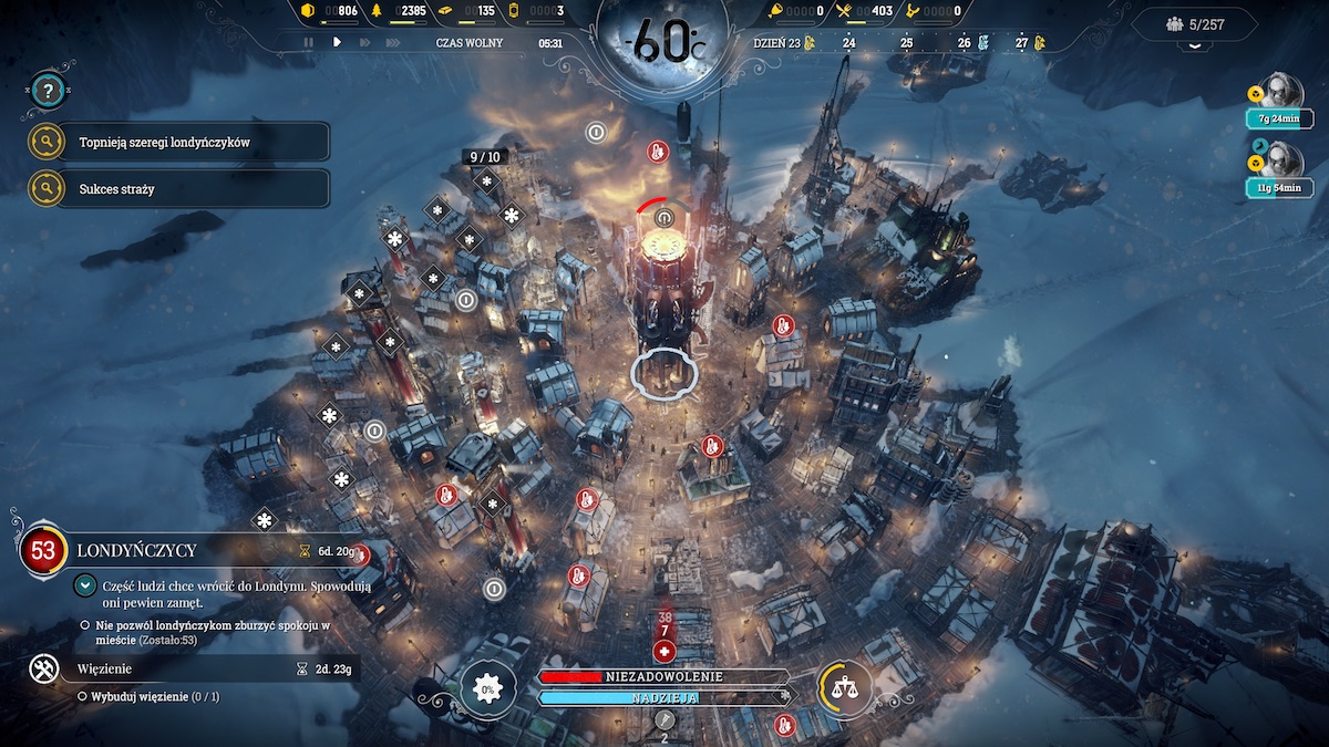 Frostpunk console edition recenzja ps4 playstation 4 1