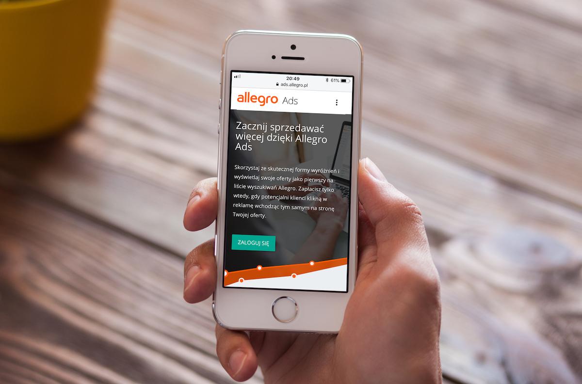 allegro ads mobile