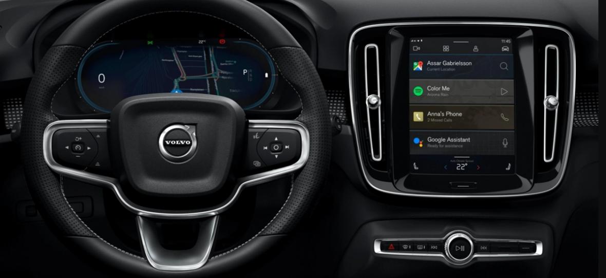 Android Automotive OS pojawi się w nowej, elektrycznej wersji Volvo XC40