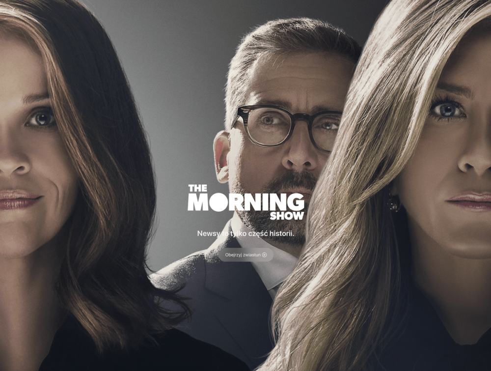 "Serial ""The Morning Show"" dostępny w Apple TV+"