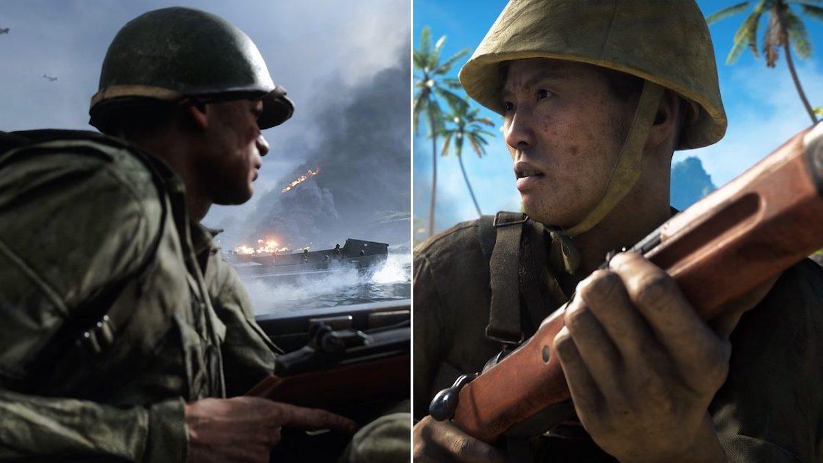 battlefield v rozdział 5 bitwa na pacyfiku aktualizacja usa japonia