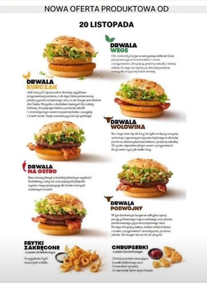 Burger Drwala 2019