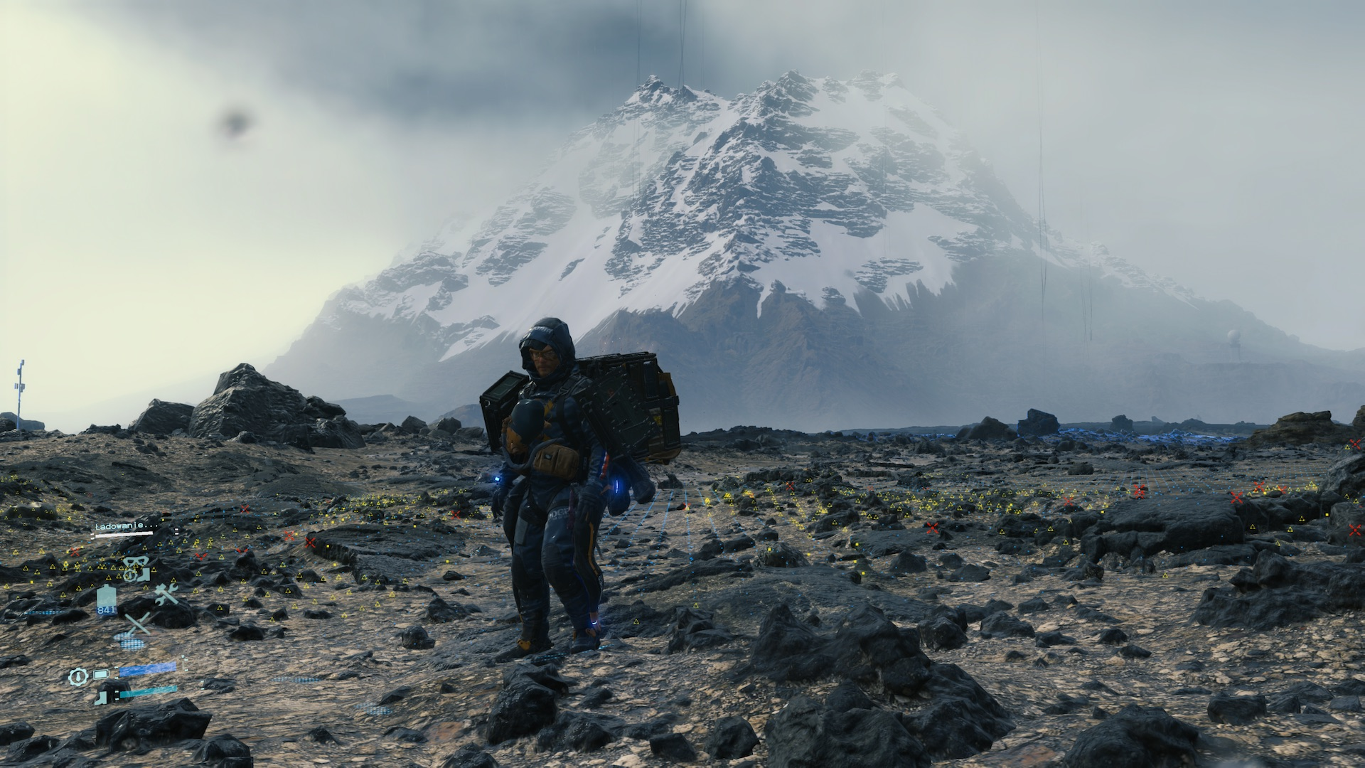 Death Stranding recenzja screenshot PS4