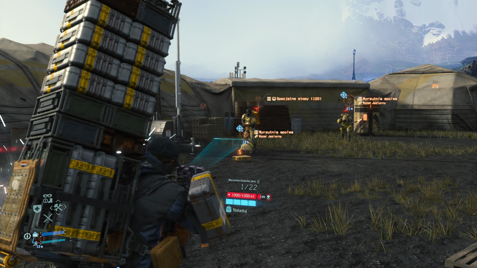 Death Stranding recenzja screenshot PS4