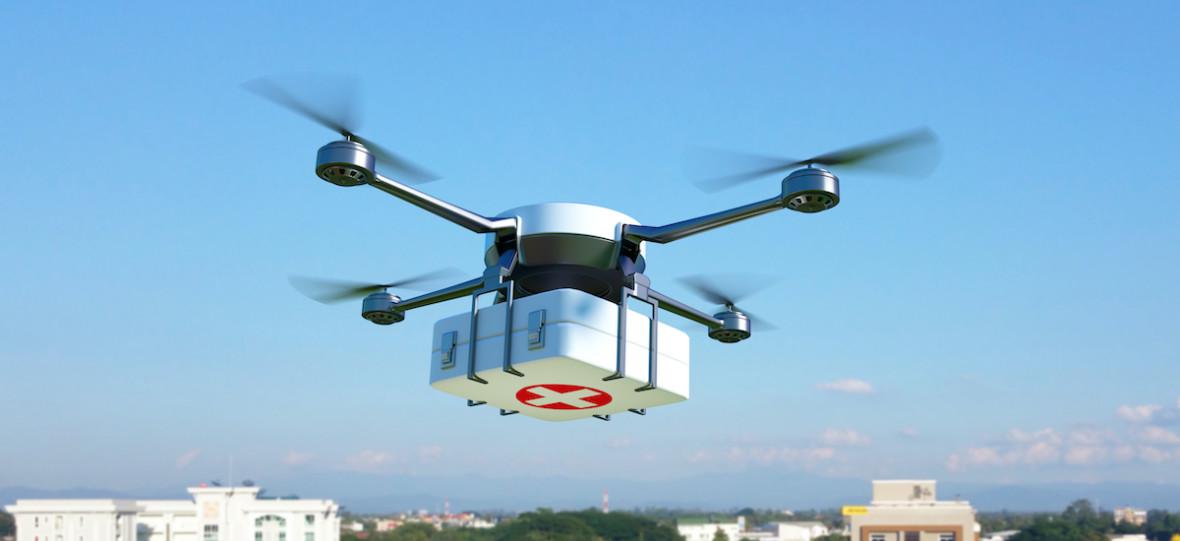 Medyczne drony będą latać nad Warszawą. Ich zadaniem będzie transport krwi