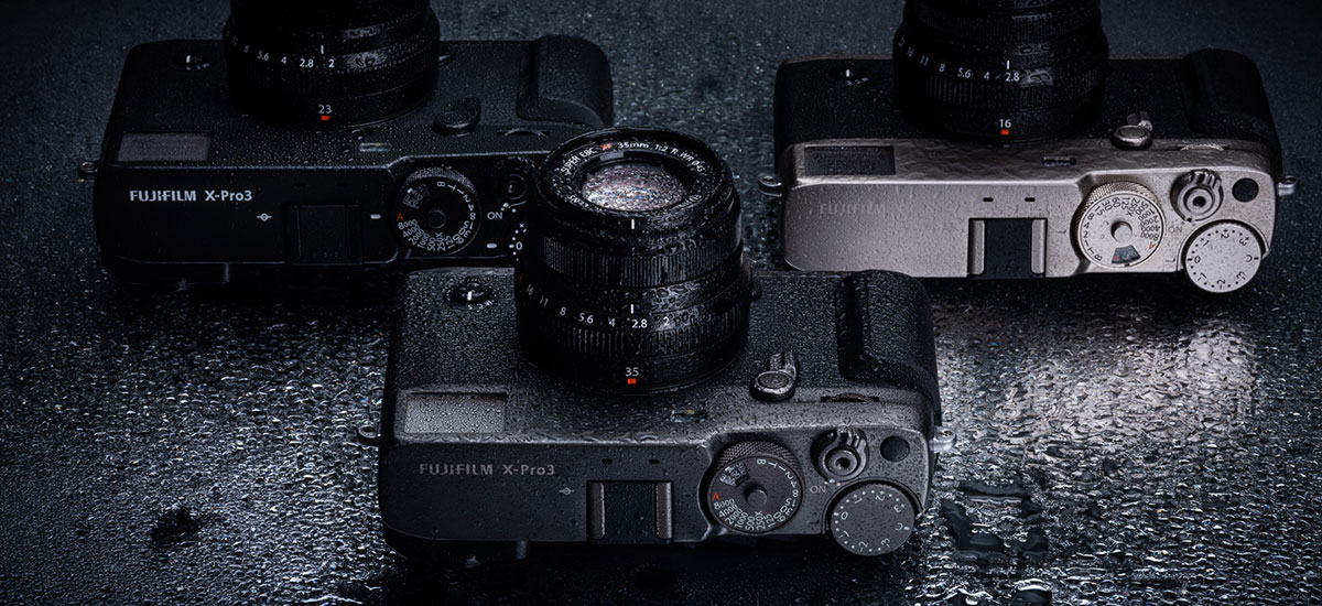 Fujifilm X-Pro 3 is to be a digital and expensive return to the roots of photography