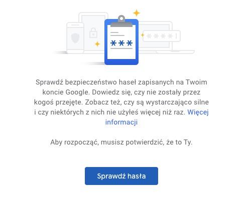 hasła google chrome