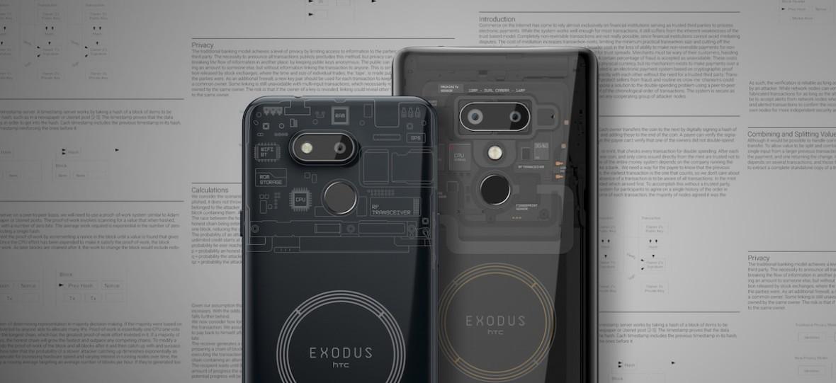 HTC prze pod prąd. Exodus 1s to tani smartfon z portfelem na bitcoiny