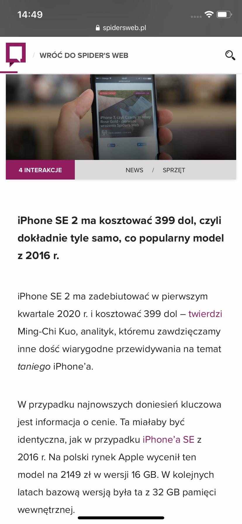 iphone 11 ekran
