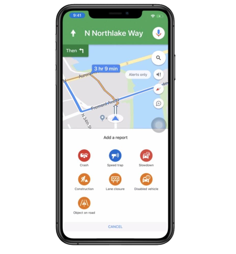 Mapy Google z nowościami dla kierowców