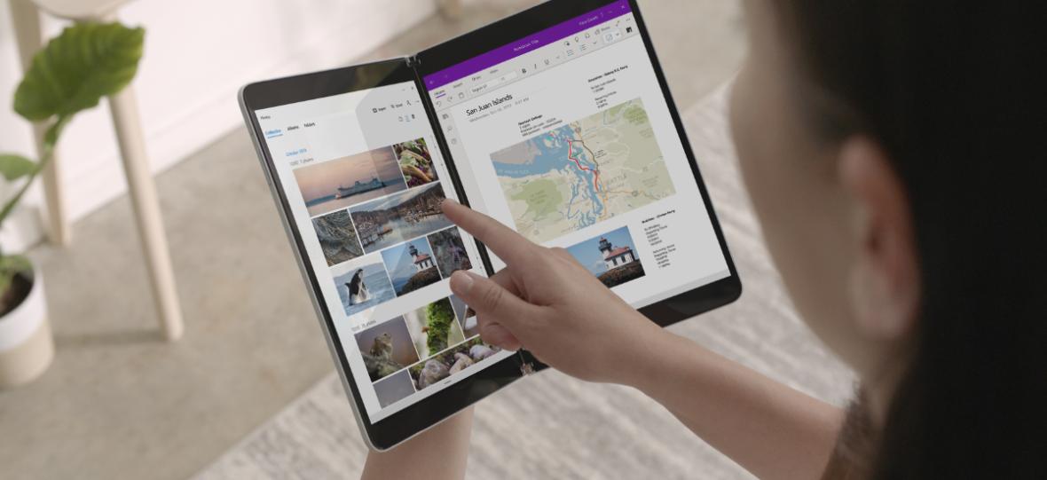 Microsoft Surface Neo z dwoma ekranami. Trochę łał, trochę hmm, trochę pff