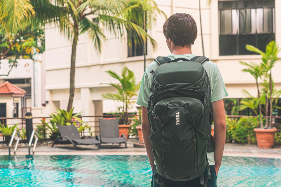 2 w 1, czyli najlepsza konfiguracja do backpackerskich podróży. Thule Landmark – recenzja