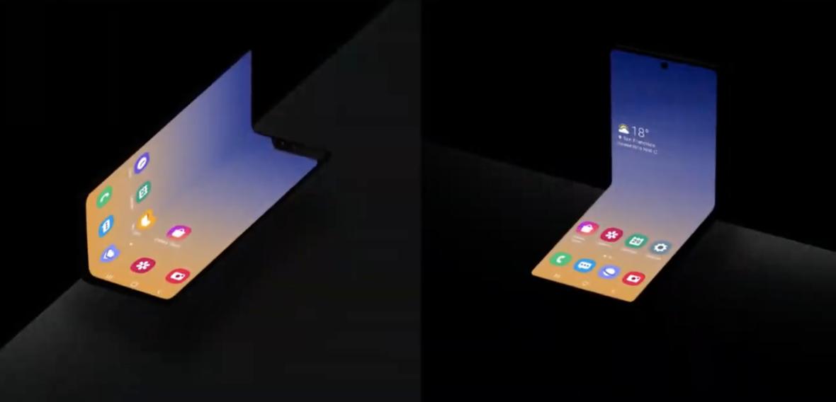 Samsung właśnie pokazał, jak będzie wyglądał jeden z nowych Galaxy Foldów
