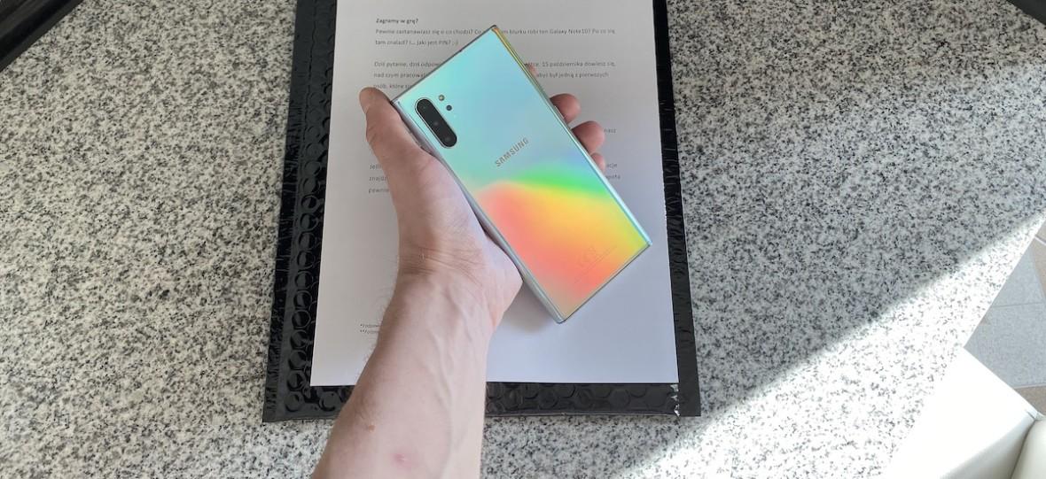 Samsung wysłał mi zablokowanego Galaxy Note'a. O co tu chodzi? Jaki jest PIN?