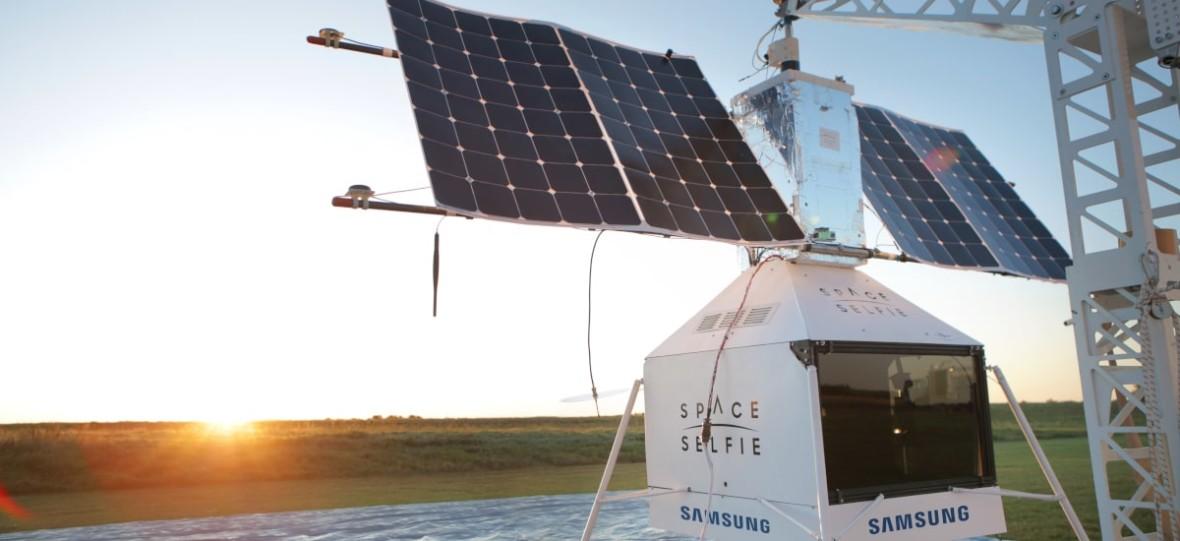 Kosmiczna niespodzianka od Samsunga. Pseudosatelita firmy wylądował w prywatnym ogródku