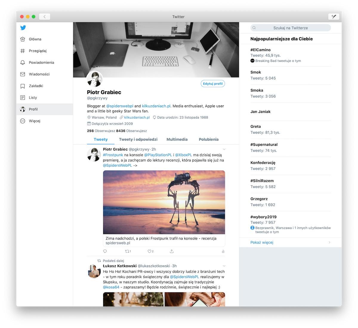 twitter macOS catalyst -1