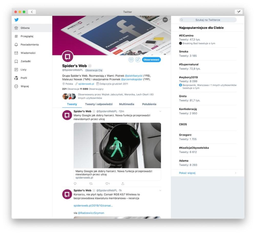 twitter macOS catalyst -2