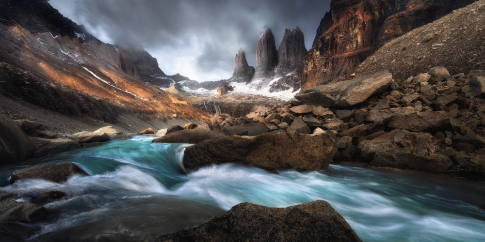 Fot. Chandra Bong, Torres del Paine, Chille