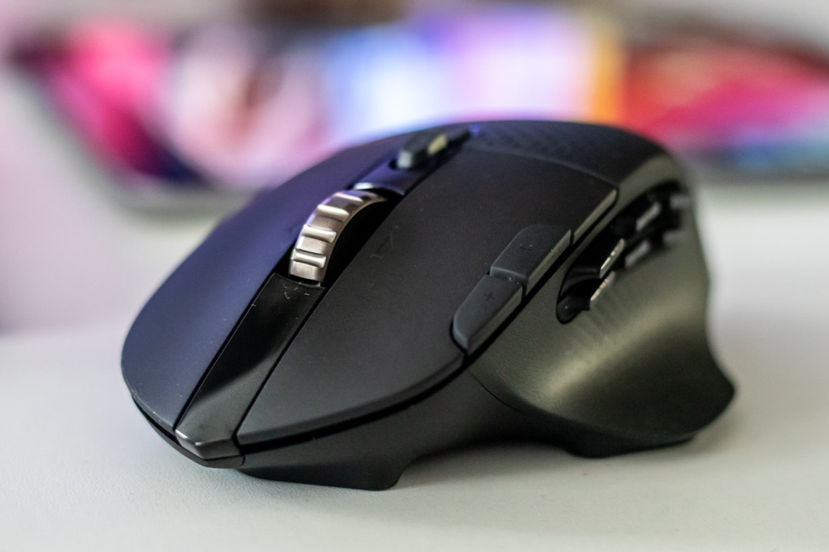 Następca G602 z wygodną bryłą Logitecha MX. Stworzona do MOBA i MMO mysz Logitech G604 – recenzja