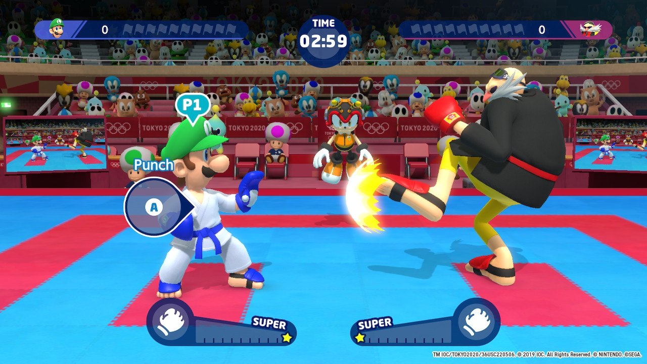 Mario & Sonic at the Olympic Games Tokyo 2020 karate