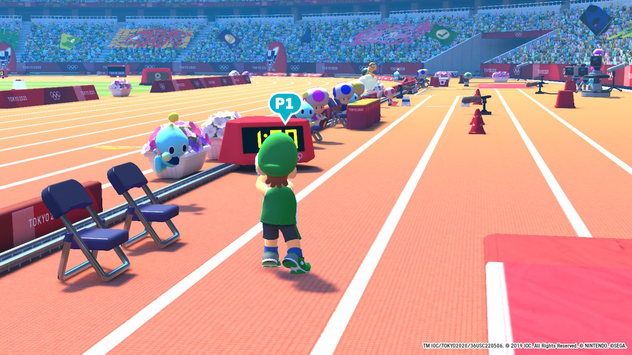 Mario & Sonic at the Olympic Games Tokyo 2020 skok w dal