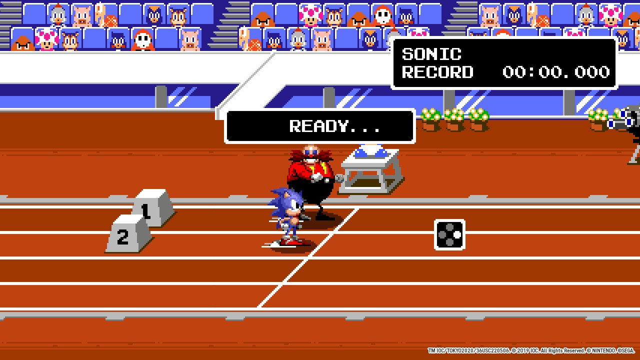 Mario & Sonic at the Olympic Games Tokyo 2020 16-bit