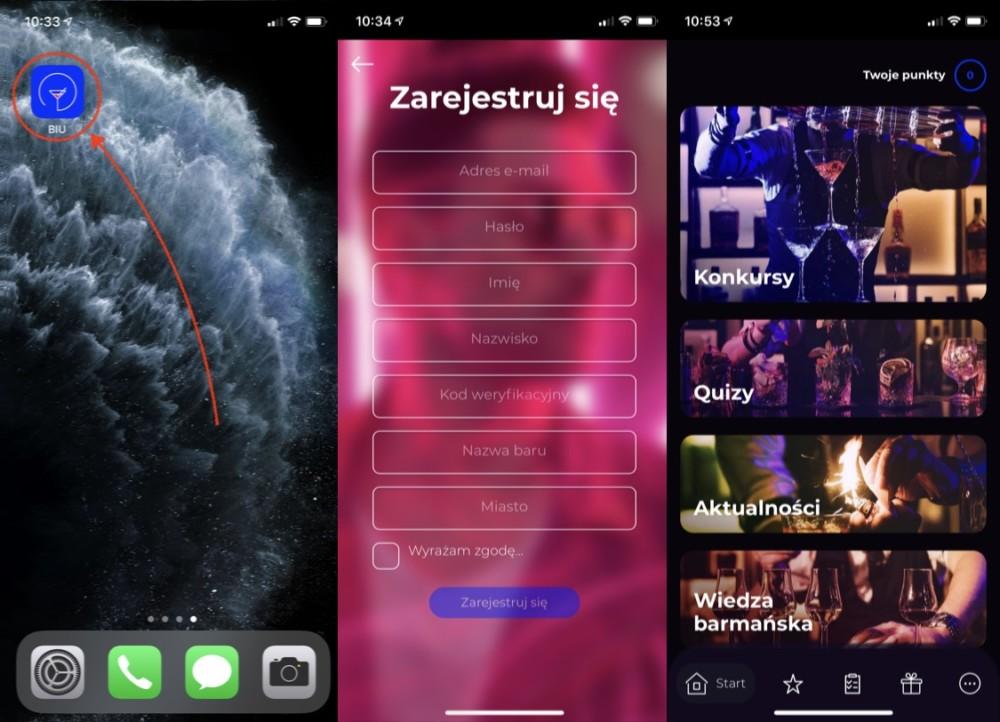 bar is us aplikacja iPhone 2