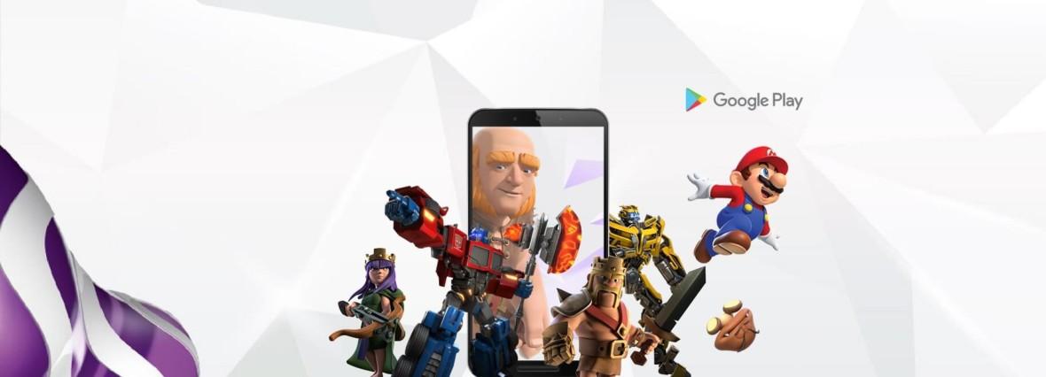 Play daje 20 zł na gry i aplikacje na Androida