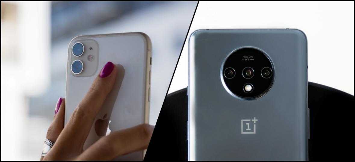 Najbardziej opłacalny Android kontra najbardziej opłacalny iPhone. OnePlus 7T czy iPhone 11 – który smartfon wybrać?