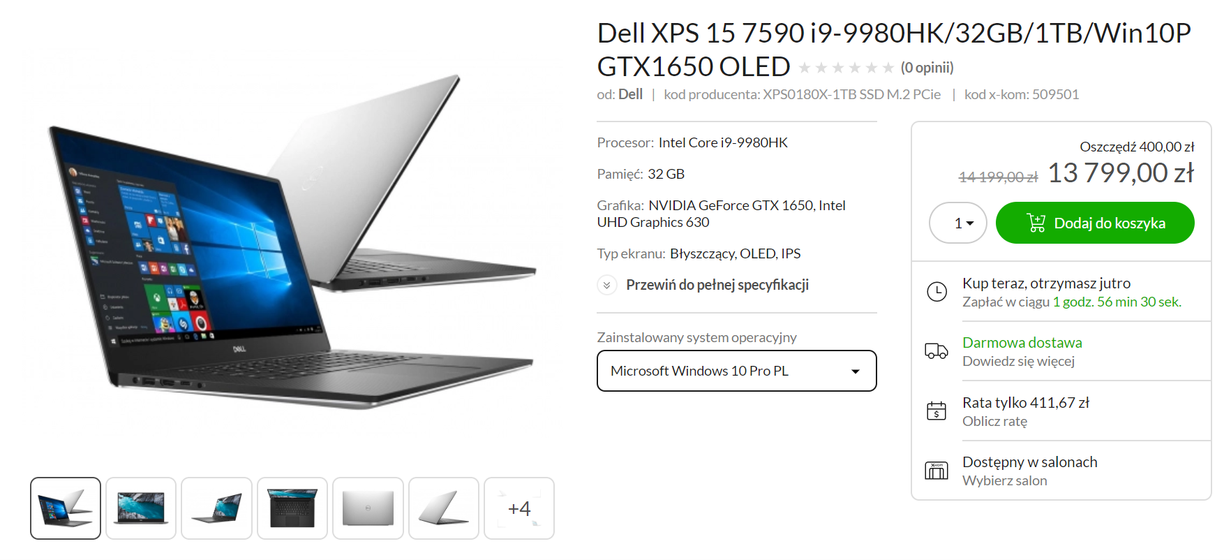 MacBook Pro 16 czy Dell XPS 15