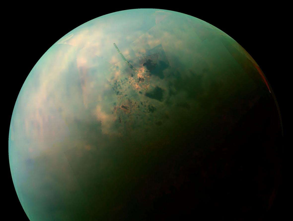 NASA stworzyła szczegółową mapę Tytana – jednego z najciekawszych ciał niebieskich w Układzie Słonecznym
