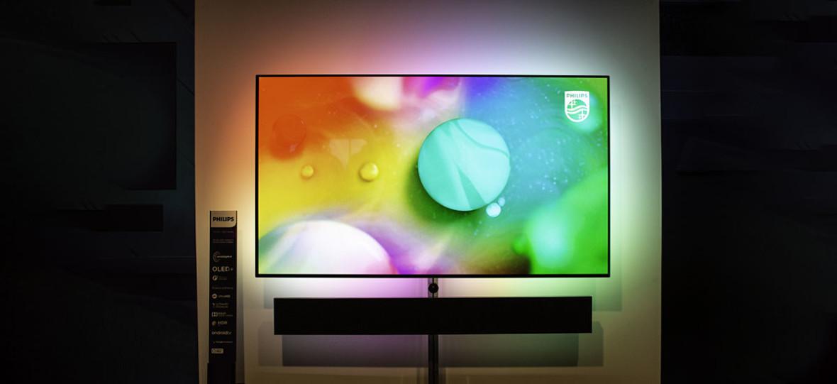 Piękny obraz, ozdobne oświetlenie i… rewelacyjny dźwięk. Tegoroczne Philips OLED+ TV są genialne