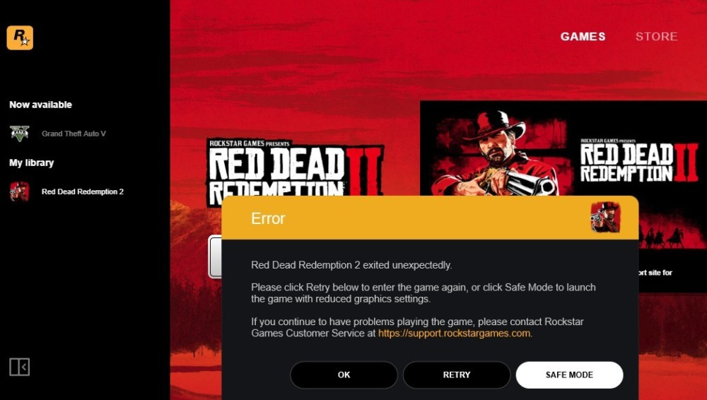 red-dead-redemption-2-pc-problem