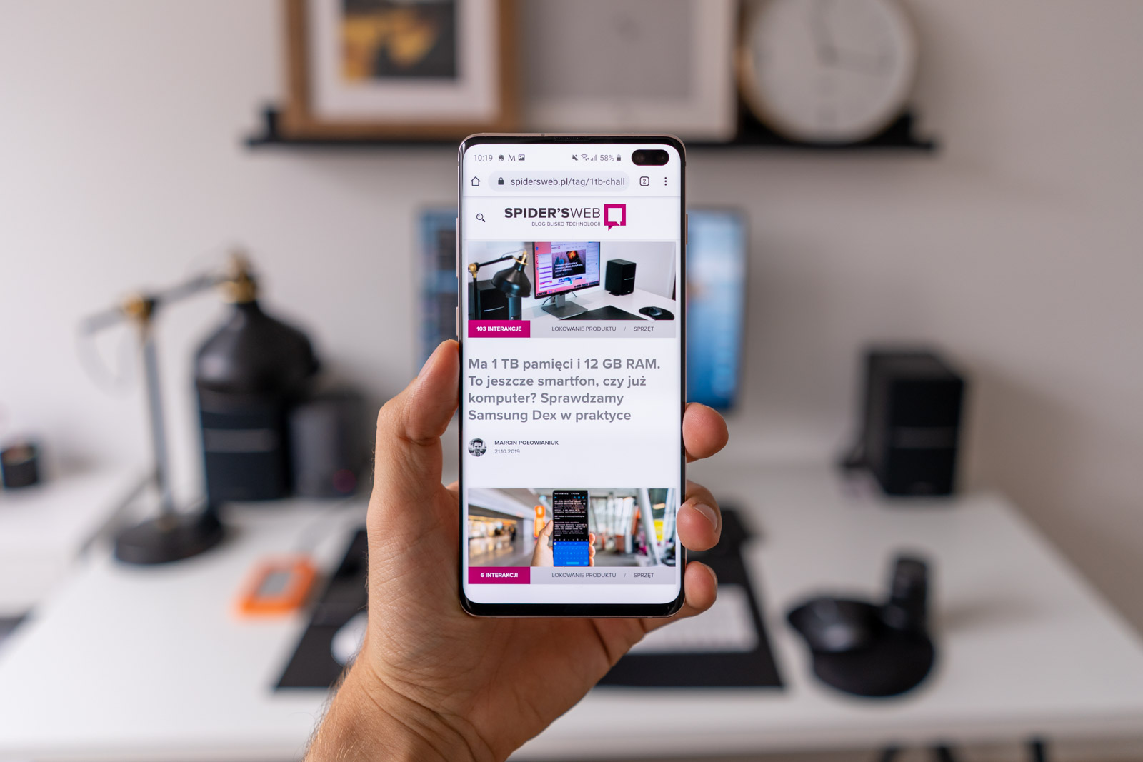 Smartphones from the Galaxy S10 family will get the update to Android 10 first