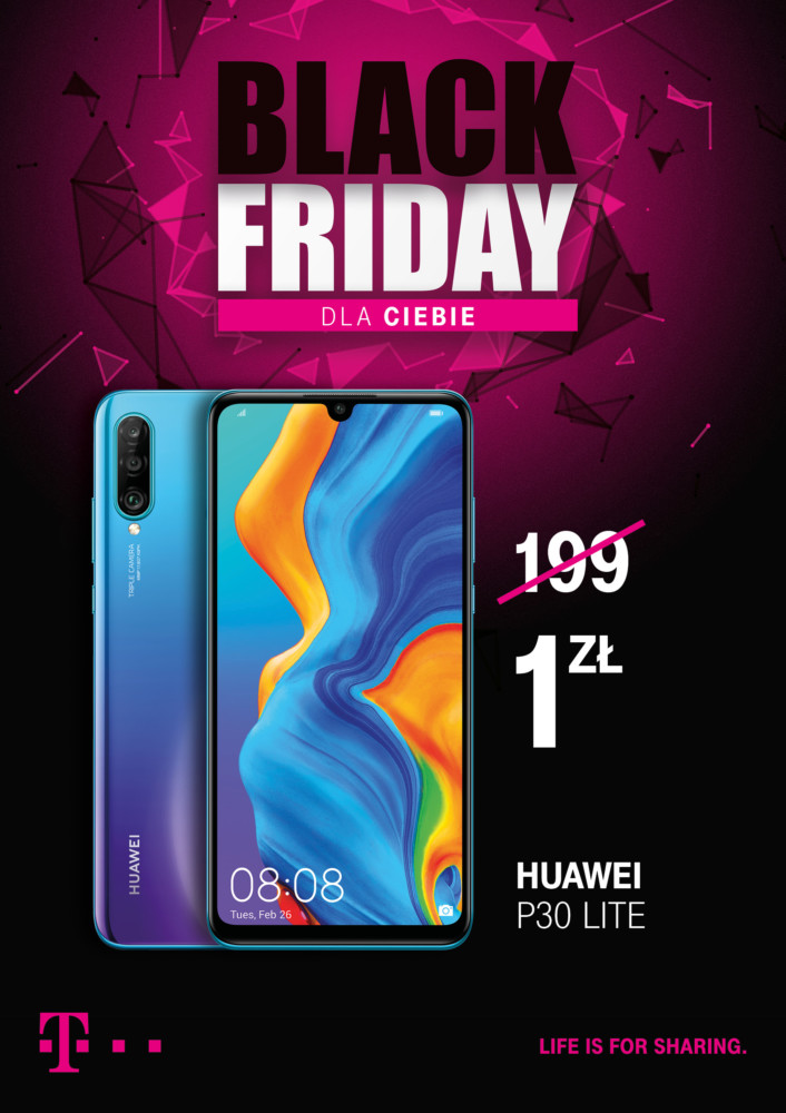 t-mobile black friday 2019 3 huawei p30 lite