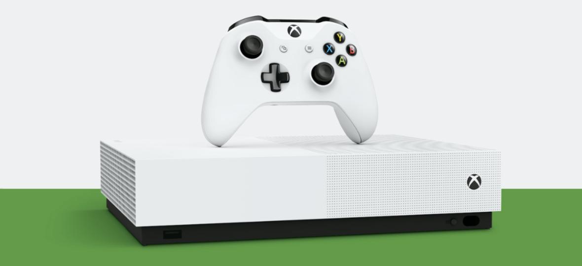 W takiej cenie grzech nie kupić. Xbox One S All-Digital Edition 1 TB z dwoma grami za 430 zł