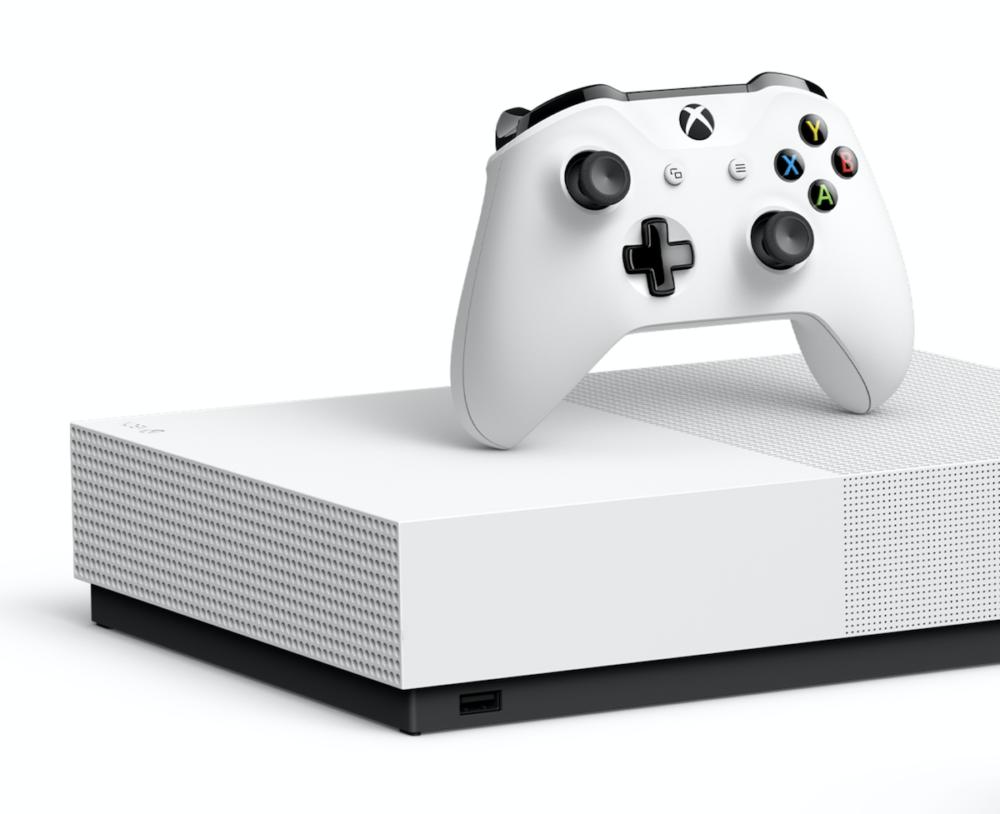 Black Friday: Xbox One S All-Digital Edition 1TB z dwoma grami za 430 zł