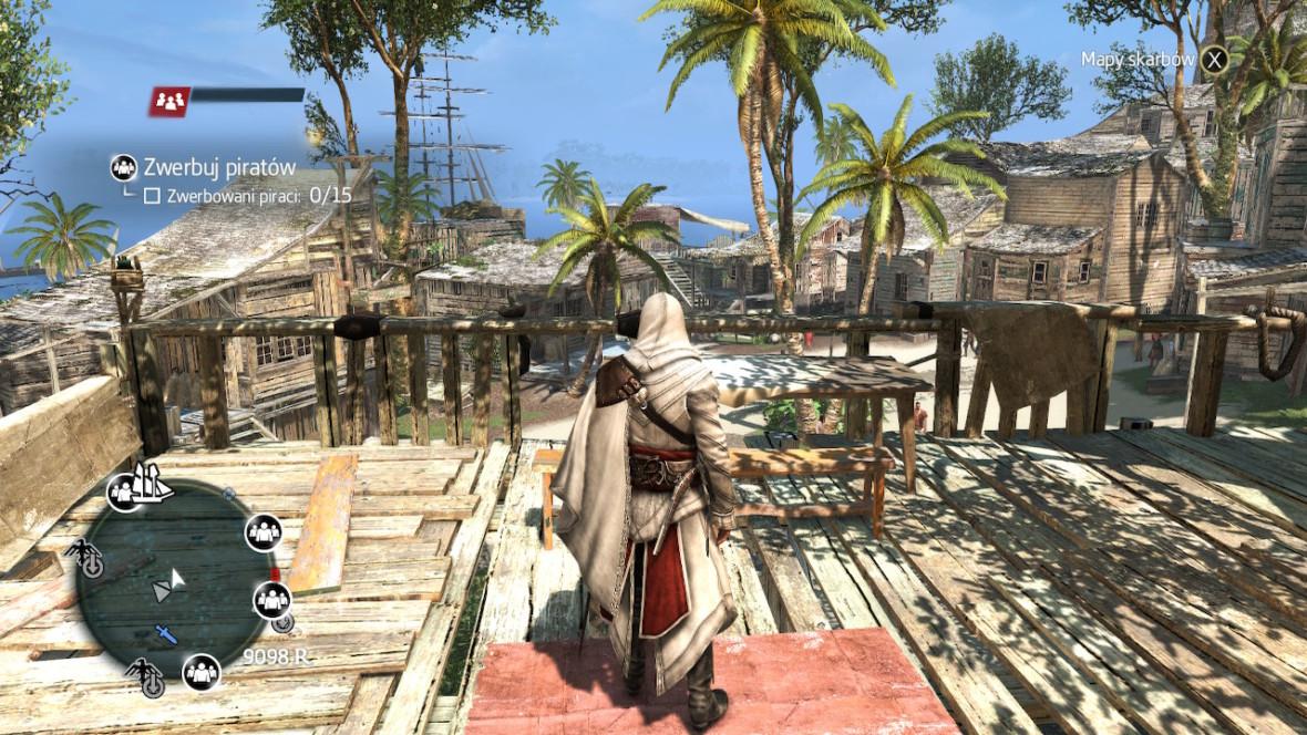 Jestem bardzo zaskoczony tym, jak płynnie działa Assassin's Creed: Black Flag na Switchu