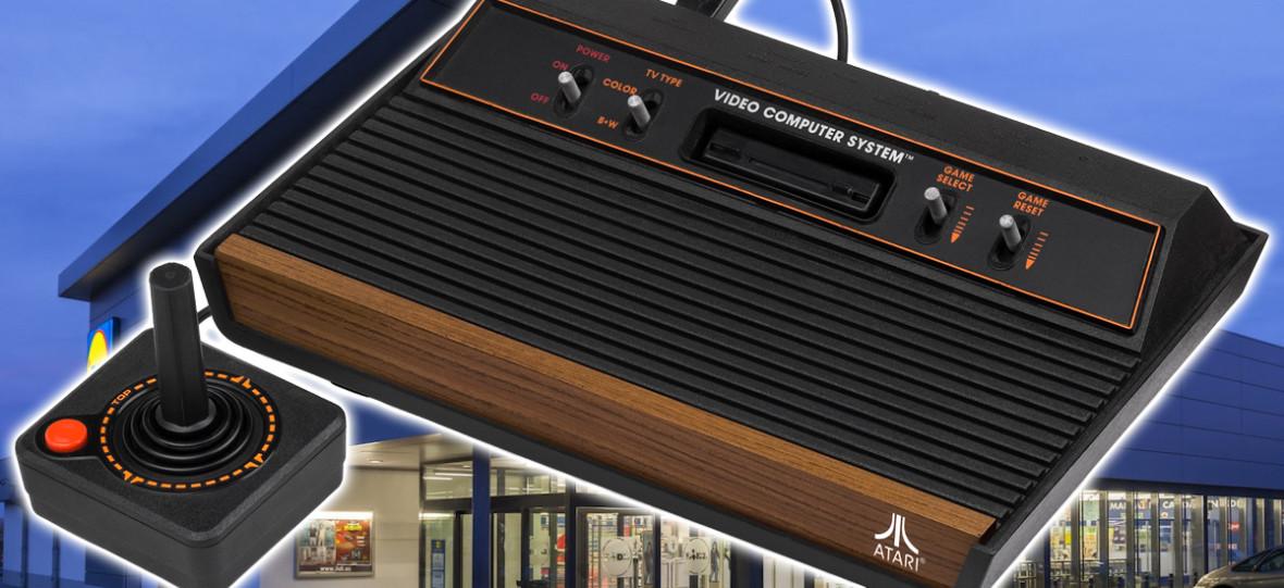 Do sieci Lidl trafi SEGA Mega Drive w świetnej cenie oraz małe Atari 2600 z 110 grami