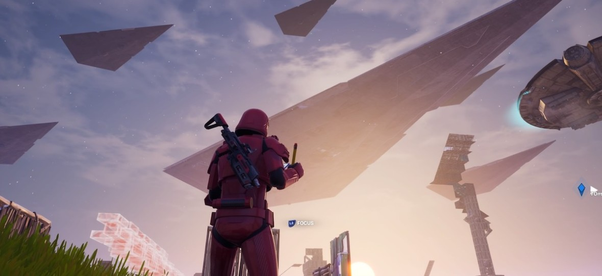Dziennik pokładowy: wziąłem udział w imprezie Star Wars wewnątrz Fortnite. Było dziwnie i ekscytująco