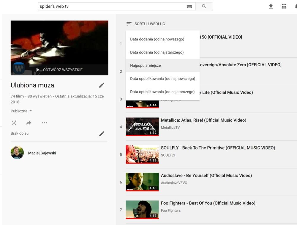 youtube dodaj do kolejki
