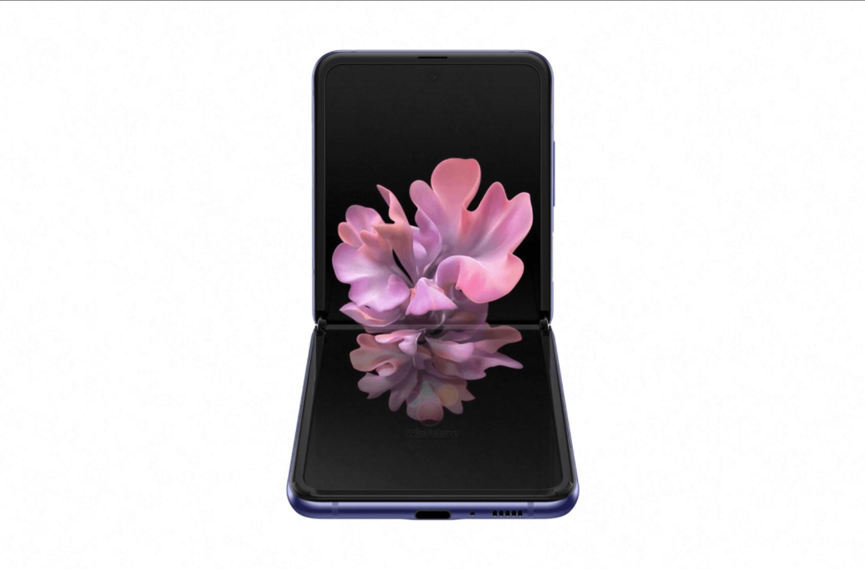 Samsung Galaxy Z Flip - oficjalne grafiki