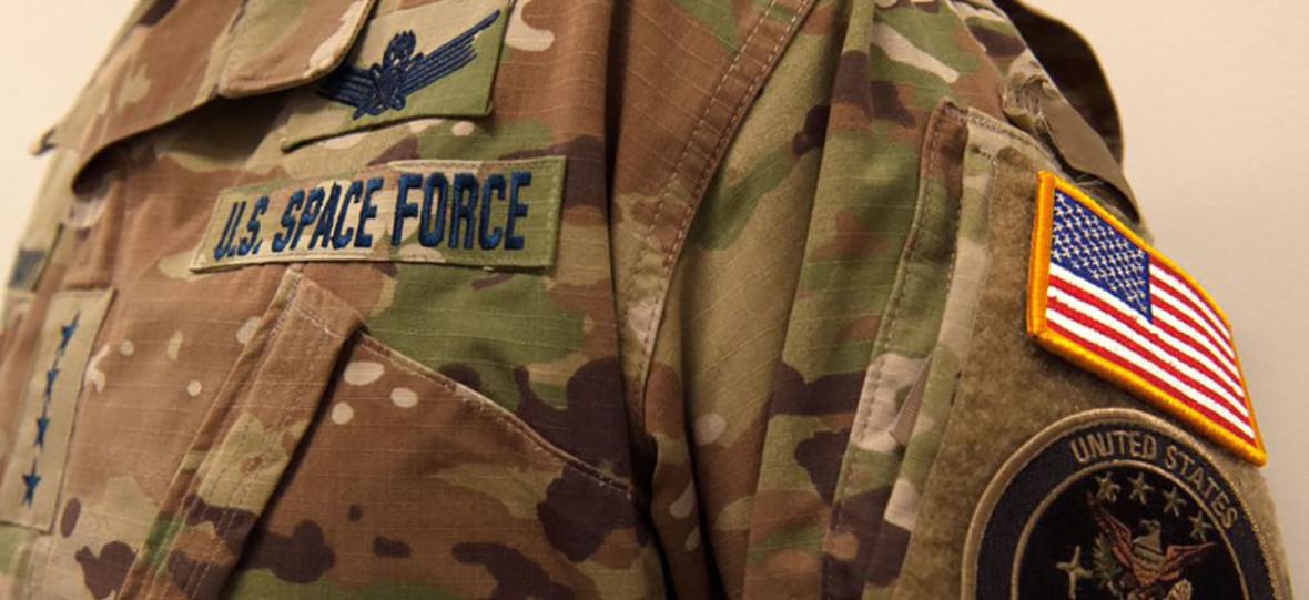 Kamuflaż przed Obcymi raczej średni. USA pochwaliło się emblematami i mundurami United States Space Force